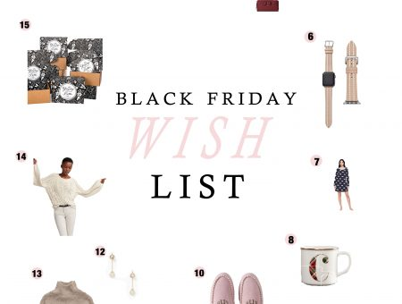 Black Friday Wish List