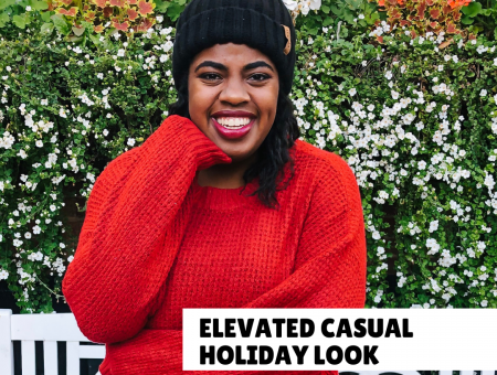 Elevated Casual Holiday Look