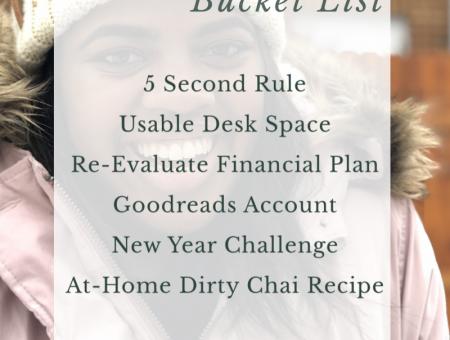 2020 January Bucket List
