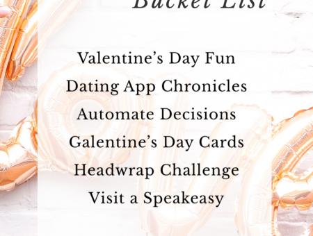 2020 February Bucket List