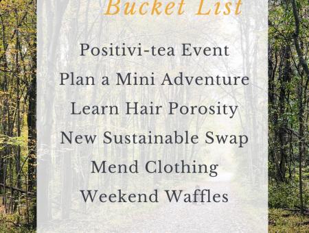 2020 September Bucket List