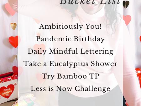 2021 February Bucket List