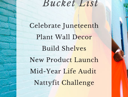 2021 June Bucket List